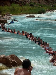 Humans do such funny things in the water! Grand Canyon Whitewater guests float the Little Colorado River. Grand Canyon Colorado, Grand Canyon Rafting, Colorado River, Beautiful Places To Visit, Places To See, 50 States Of Usa, Deserts Of The World, Travel Usa, That Way