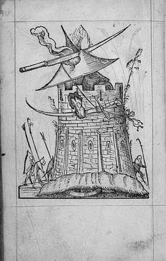 François Desprez, f. G6 [i.e. H6] v° Dessin 118 Les Songes drolatiques de Pantagruel A Paris : Par Richard Breton 1565