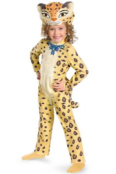 Madagascar 3: Europe's Most Wanted    Gia the Leopard Toddler Costume #halloween #costumes