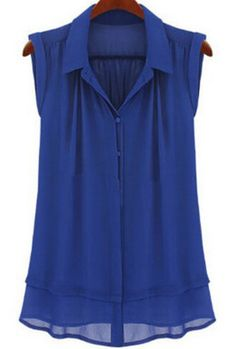 Super cute style blouse! Perfect to put under a cardigan or blazer ...