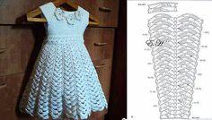 çoçuk örgü elbiseleri modelleri