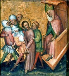 Painting, Österreichische Galerie, Vienna, Austria, 1395-1405