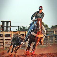 teamroping  roping  horse  quarterhorse  rodeo  rodeio  cavalo   quartodelmilha. Boné CountryGado ... 948b1b02ecd