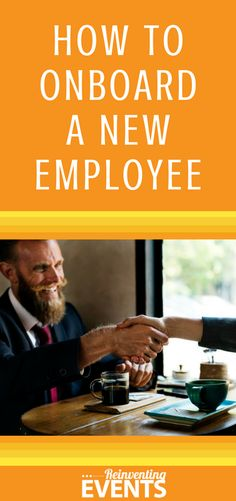Don't leave new hires hanging! Starting a new job can be stressful and overwhelming. Having a well-organized process for onboarding new employees can help make the transition easier. How to Onboard a New Employee http://reinventingevents.com/2017/10/onboarding-a-new-employee/ Be sure to repin to save!  @reinventevents #EventProfs #EventPlanner #EventPlanning #Events #Conferences #Tradeshows #EventTips