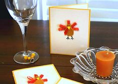 A Thanksgiving turkey craft project