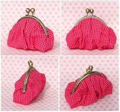 Tutorial.....Very cute bag.....not sure where I'll find the clasp part, but I definitely want to make this!