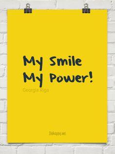 My smile my power! by Georgia Riga #587390