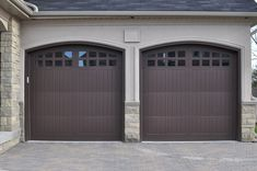My New Style Garage Door.