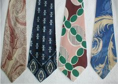 Small exhibition of 1940s ties | Inputs