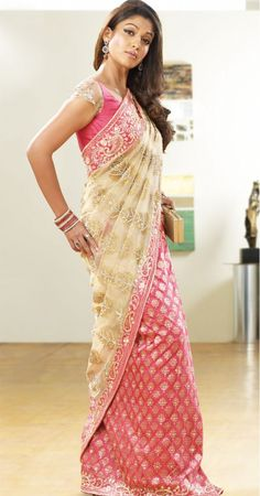 Latest Half Saree Designs | wedding sarees half saree embroidered sarees silk cotton saree silks ...