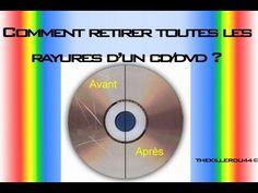 [Tuto] Réparer et Nettoyer un CD/DVD très rayé ! - YouTube Blu Ray, Chart, Bracelets, Clean Oven Racks, Cleanser, Walking, Projects, Bricolage, Bracelet