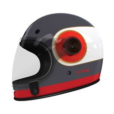 #helmade #Bell #Bullitt #Join for all the Bullseye lovers out there. Design your own on www.helmade.com #helmetdesign #vintage #red #gold #classic Bmx, Motocross, Vintage Helmet, Helmet Accessories, Helmet Design, Bike Style, Cafe Racer, Riding Gear, Pinstriping