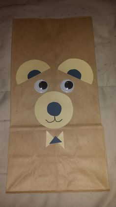 "Teddy Bear goody bag - I've hand made these for my son's 1st birthday party, the theme was Teddy Bears. I used brown paper bags, and added a 7"" teddy bear and 2 candies in it. Kids loved it."