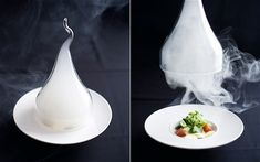 molecular gastronomy smoking gun dome.  The gun works great!