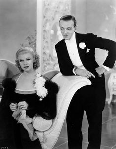 Ginger Rodgers & Fred Astaire