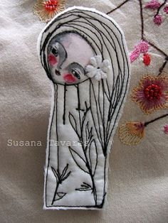 Art Doll /Brooch - Light Collection... | by Susana Tavares