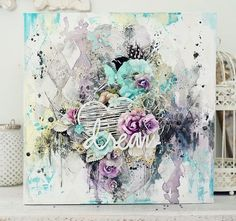 Beautiful Mixed Media Canvas Art Ideas