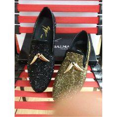 Giuseppe Zanotti Men Crystals 38-44 Leather Shoes gz2015050904