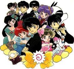 Ranma 1/2 by Rumiko Takahashi was my first manga. <3 Shampoo so much she's tattooed on my back.