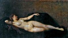 Inspirational Artworks: Henner Jean-Jacques Jean Jacques Henner, Academic Art, Inspirational Artwork, Chiaroscuro, Figure Painting, Portrait, Image, Artworks, Black