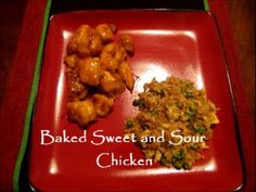 GF Baked Sweet and Sour Chicken