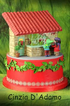 EDITOR'S CHOICE (12/25/2013) Natale 2013 by CinziaD  View details here: http://cakesdecor.com/cakes/103745