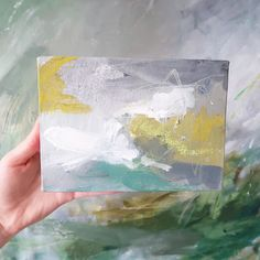 """Mini 5x7"""" abstracts  coming soon!"""