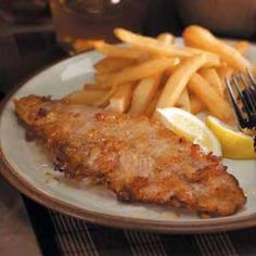 Honey-Fried Walleye.  It just doesn't get better than Walleye.  And the recipe is significantly lighter in calories and fat than Poutine.Walleye (pickerel fish)Recipe
