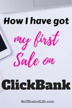 How I've score my first sale on Clickbank through affiliate marketing. in this post you'll get to know how you can also make money on Clickbank. Affiliate marketing with clickbank Make Money Blogging, Make Money From Home, Make Money Online, How To Make Money, Earn Money, Blogging Ideas, Money Fast, Marketing Program, Affiliate Marketing