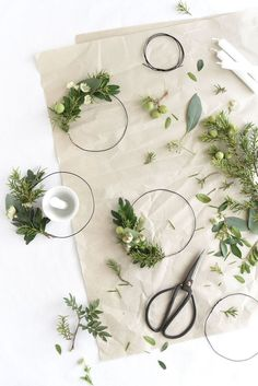 Looking for simple yet beautiful decorating and tabletop ideas for the holidays? Look no further than this sweet mini wire wreath candle holder DIY project!