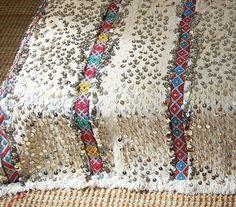 Dreamy Vintage Moroccan Wedding Blankets