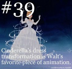 CINDERELLA: Walt Disney himself, has gone on record stating that THIS was his favorite piece of animation. I wonder what he'd think of Pixar… Disney Nerd, Disney Girls, Disney Love, Disney Magic, Disney Stuff, Punk Disney, Disney And Dreamworks, Disney Pixar, Walt Disney