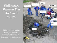 Difference Between You and Your Boss | Flickr - Photo Sharing!