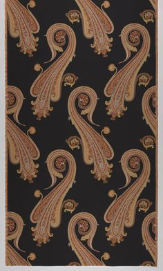 Textile, Massive Paisley, 2007. Designed and manufactured by Maharam Studio | Cooper-Hewitt