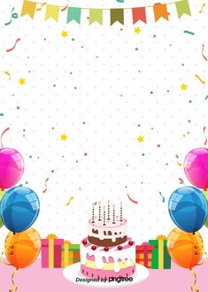 Ideas for happy birthday poster background Birthday Invitation Background, Happy Birthday Invitation Card, Birthday Background Images, Happy Birthday Greeting Card, Happy Birthday Font, Happy Birthday Posters, Happy Birthday Balloons, Happy Birthday Parties, Party Cartoon