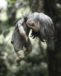 Creepy! Island of lost dolls. Read the article.