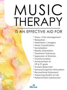 #music therapy …