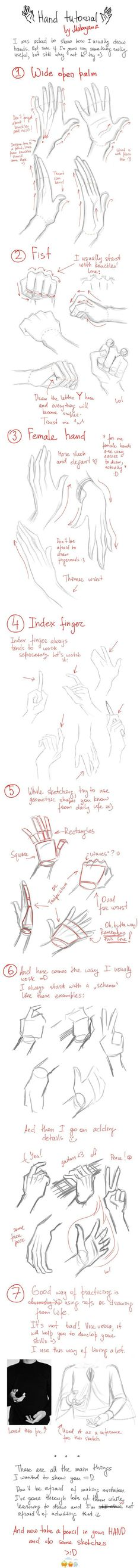 Inspiring 'HANDS' via Paula Parker Sketchy at Best bloglovin.com ~ Wendy Schultz ~ Drawing & Sketching.