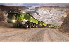 Non-rigid design of a rigid haul truck #mining #equipment #design