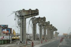 Demolition of the eastern Gardiner Expressway near Logan Ave. Toronto Hotels, Las Vegas Airport, Toronto Ontario Canada, Canadian History, West Village, Urban Planning, Landscape Photos, Back In The Day, Mount Rushmore