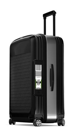 RIMOWA - Electronic Tag Rimowa Luggage, Luggage Case, Kids Luggage, Louis Vuitton Luggage Set, Best Travel Luggage, Travel Bags, Cute Suitcases, Travel Trolleys, Trolley Case