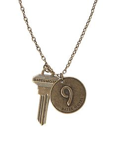 Bates Motel Number Nine Key Necklace | Hot Topic