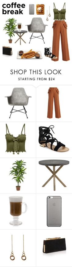 """""""Coffee Time x"""" by shiana-rauea ❤ liked on Polyvore featuring Lyon Béton, Muveil, Puma, Saks Fifth Avenue, Nearly Natural, Gabby, Native Union, Laura Lombardi and Jimmy Choo"""