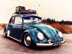VW bug road trip