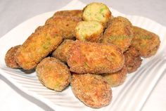 Crocchette di zucchine e porri