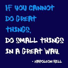 Always great advice! #SmallBusiness #Motivation #Success