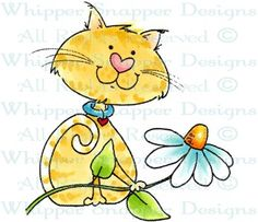 Cutie - Cats - Animals - Rubber Stamps - Shop