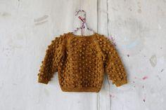Nutmeg Popcorn Sweater