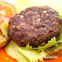 made Imág - Comidas Fitness, Turkey Burger Recipes, Egyptian Food, Homemade Hamburgers, Healthy Snacks, Healthy Recipes, Ground Meat Recipes, Best Weight Loss Foods, Keto Side Dishes