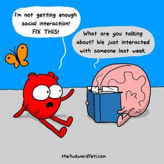 heart and brain - the internal struggle of an introvert
